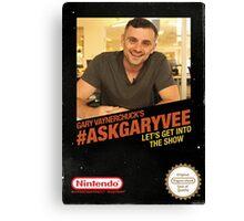 Ask Gary Vee Show - NES Canvas Print