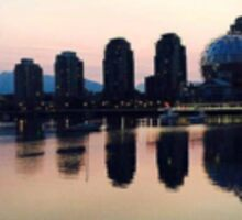 Vancouver Sunrise Sticker