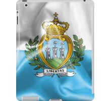San Marino Flag iPad Case/Skin