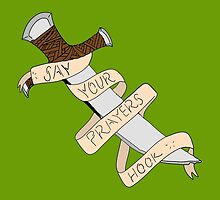 Say Your Prayers, Hook! (Peter Pan) by aigarcia