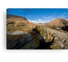Bridge at Wasdale Canvas Print