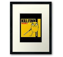 Kill Finn Framed Print
