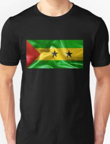 Sao Tome and Principe Flag Unisex T-Shirt