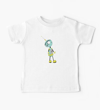 lonely robot Baby Tee