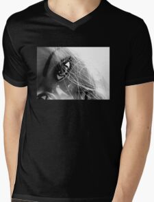 Shiny Happy Plastic Tee Mens V-Neck T-Shirt