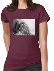 Shiny Happy Plastic Tee Womens Fitted T-Shirt