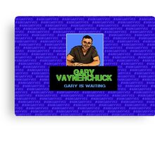 Ask Gary Vee Show - NES Punch Out Canvas Print