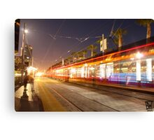 Ghost Trolley Canvas Print