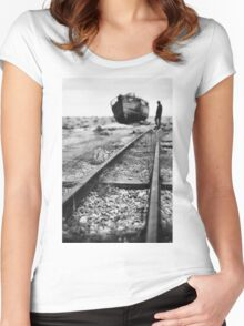 Dungeness 2 Women's Fitted Scoop T-Shirt