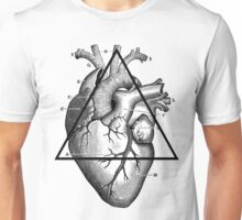 Love will tear us apart - Big triangle heart Unisex T-Shirt