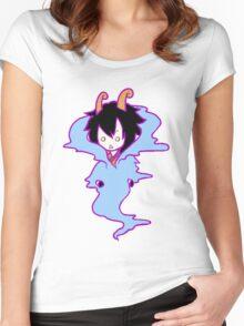 Caesar clown chibi Women's Fitted Scoop T-Shirt