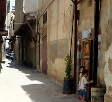 Growing Up In Damascus by HELUA