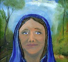 The Virgin Mary by tusitalo