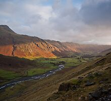 Langdale Pikes by James Grant