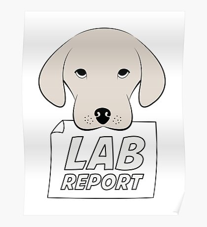 Lab Report Poster