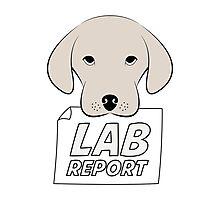Lab Report Photographic Print