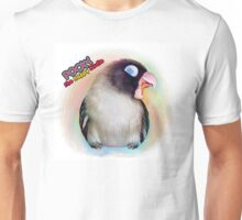 Pocky the happy birdie realistic painting Unisex T-Shirt