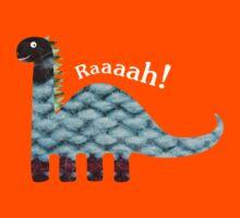 Dinosaur Fabric Collage - Raaah! Kids Clothes