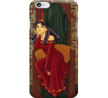 The princess is bored iPhone Case/Skin