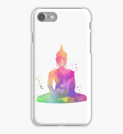 Watercolor Buddah iPhone Case/Skin