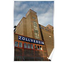 Zollverein coking plant, Essen, Germany. Poster