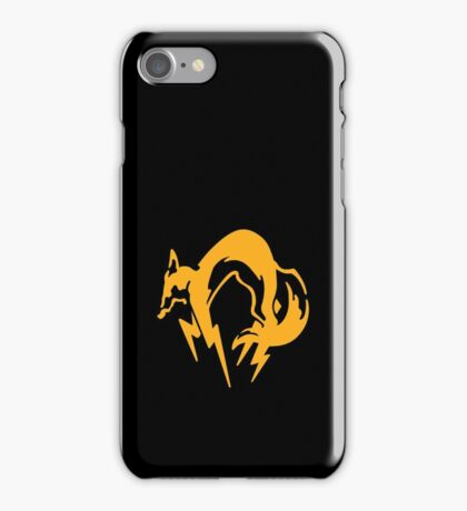 Metal Gear Solid - FOX (Over Heart) iPhone Case/Skin