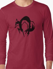 Metal Gear Solid - Fox (Black) Long Sleeve T-Shirt