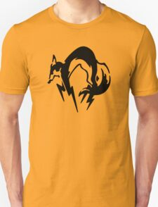 Metal Gear Solid - Fox (Black) T-Shirt