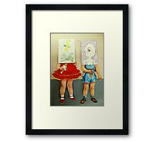 you are me dolls Framed Print