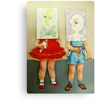you are me dolls Metal Print