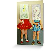 you are me dolls Greeting Card