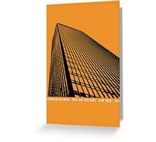 Mies Van Der Rohe Seagram Architecture Tshirt Greeting Card