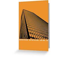 Mies Van Der Rohe Seagram Architecture Tshirt Greeting Card
