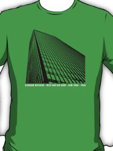 Mies Van Der Rohe Seagram Architecture Tshirt T-Shirt