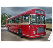 Red and White RS 167 - Bristol RESL6L  #2 Poster