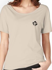 Metal Gear Solid - FOX (Black, over Heart) Women's Relaxed Fit T-Shirt