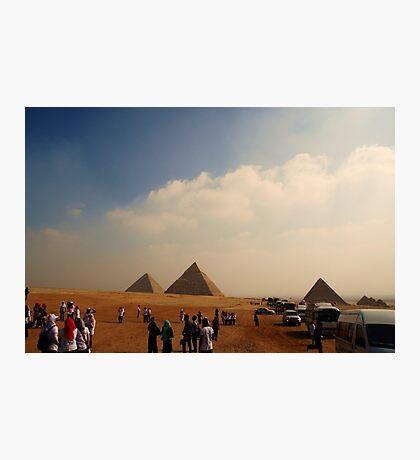 Pyramids - Breast Cancer Walk Photographic Print