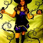 SYDNEY THE WITCH!!!  HAPPY HOLLOWEEN!!!  by Sherri     Nicholas