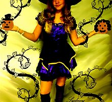 SYDNEY THE WITCH!!!  HAPPY HOLLOWEEN!!!  by Sherri     Nicholas