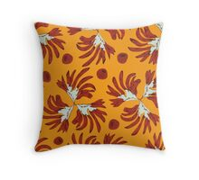 Pops of Oz - Warm Kangaroo Paw Throw Pillow