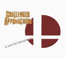 Challenger Approaching - Super Smash Bros. Kids Tee
