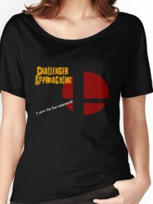 Challenger Approaching - Super Smash Bros. Women's Relaxed Fit T-Shirt
