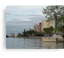 Miami............ Canvas Print