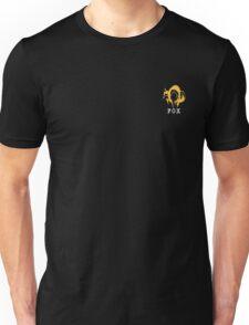 Metal Gear Solid - FOX +text (over heart) Unisex T-Shirt
