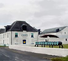 Bruichladdich Distillery, Islay, Scotland by Ian Gray