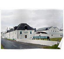 Bruichladdich Distillery, Islay, Scotland Poster