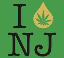 I Dab NJ (New Jersey) Weed by LaCaDesigns