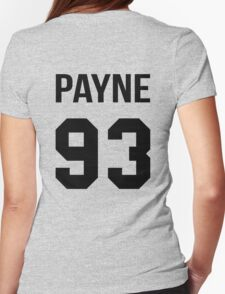 Liam Payne - College Style [Black] Womens Fitted T-Shirt