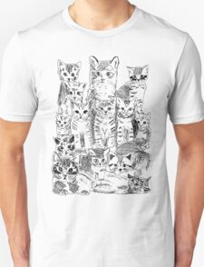 A bunch of cats Unisex T-Shirt