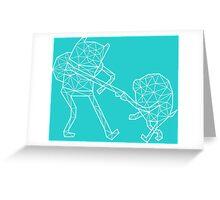 Vector Finn and Jake Greeting Card